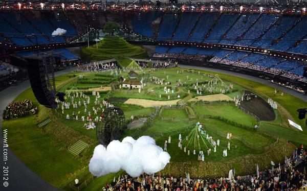 Cerimónia de abertura - Londres 2012
