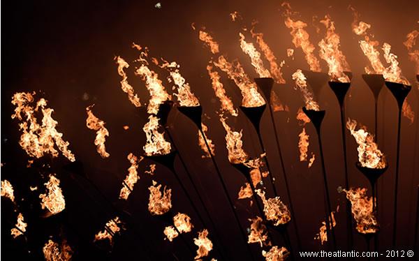 Londres 2012 - Caldeirão Olímpico