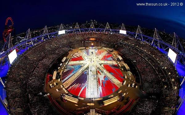 Cerimónia de encerramento - Londres 2012