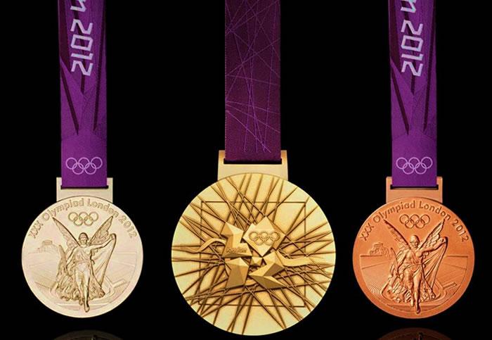 Londres 2012 - medalhas